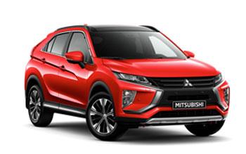 De Mitsubishi modellen